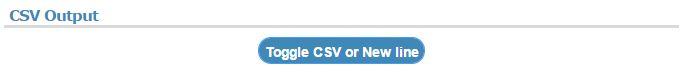 Toggle CSV Button