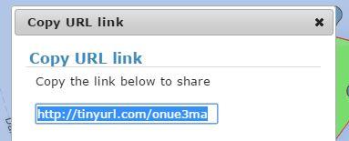 Share Area URL